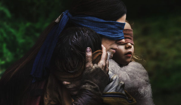 BIRD BOX (2018) Movie Trailer 2: Sandra Bullock, Her Family, & World Face an Enemy that Uses Fear